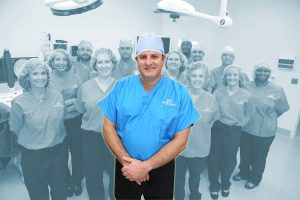 Dr. Deuk and His Team in Operating Room