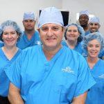 Dr. Ara Deukmedjian and his surgical team